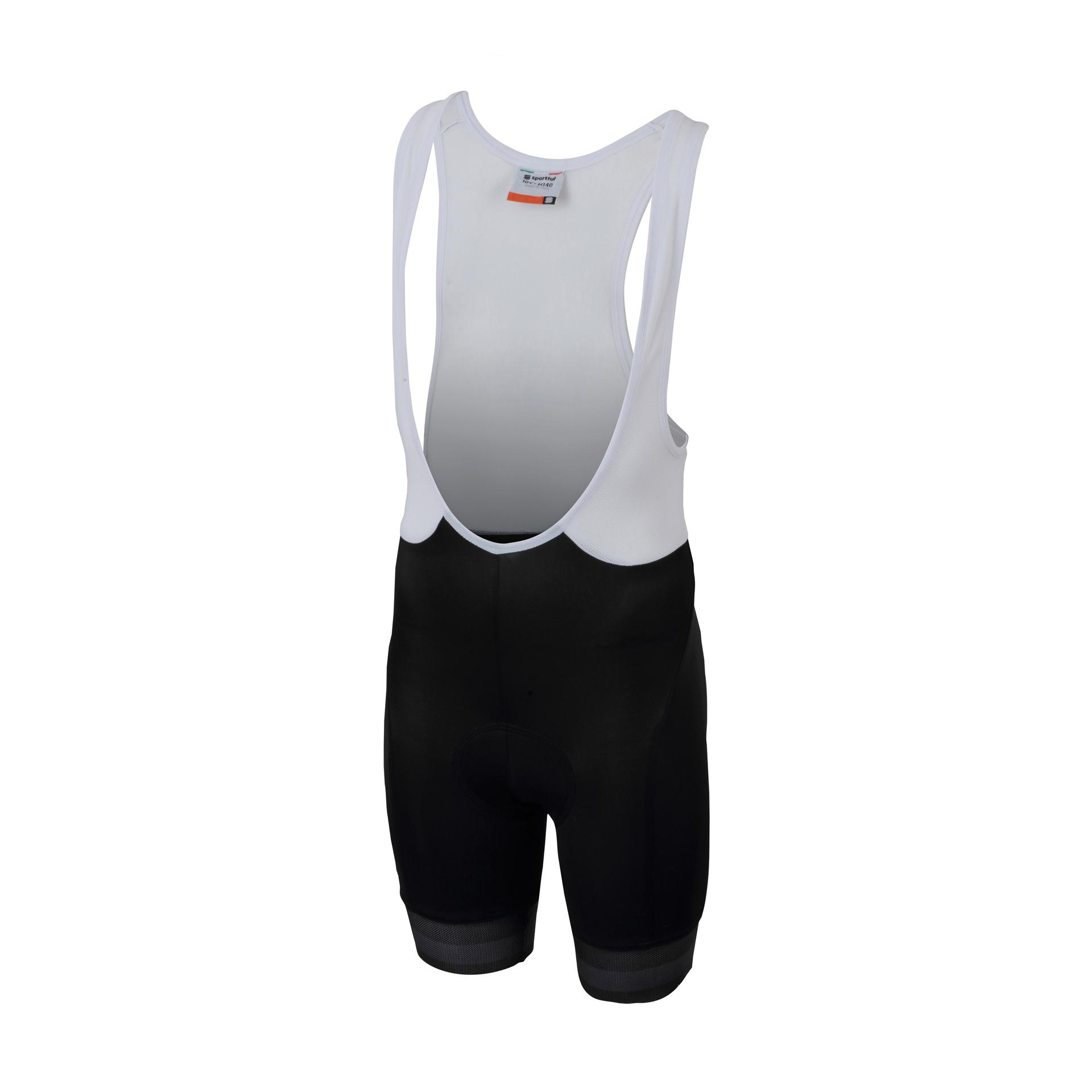 Sportful Fietsbroek met bretels - koersbroek Kids Zwart  / SF Tour 2.0 Kid Bibshort-Black