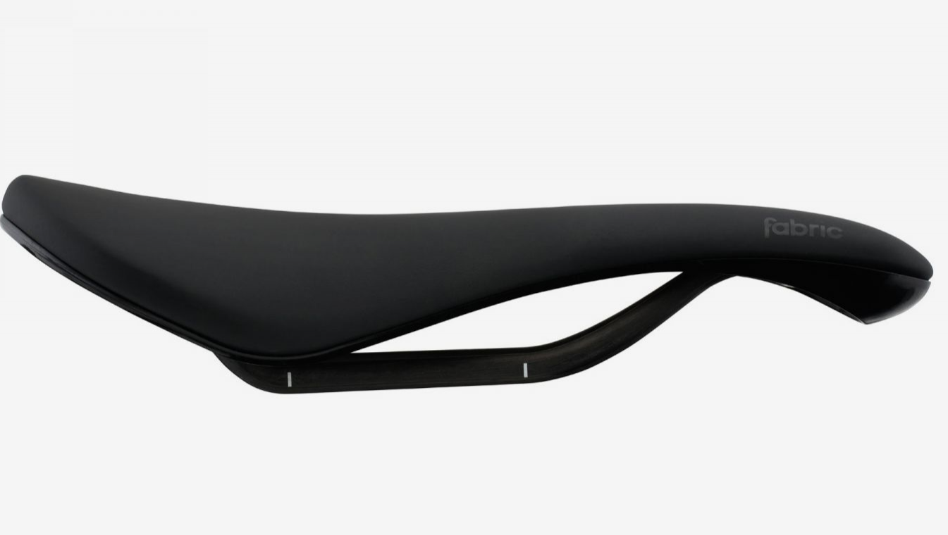 Afbeelding Fabric Fietszadel met Carbon rail 180 gram Zwart- / Scoop Ultimate Radius Saddle BKV 142mm