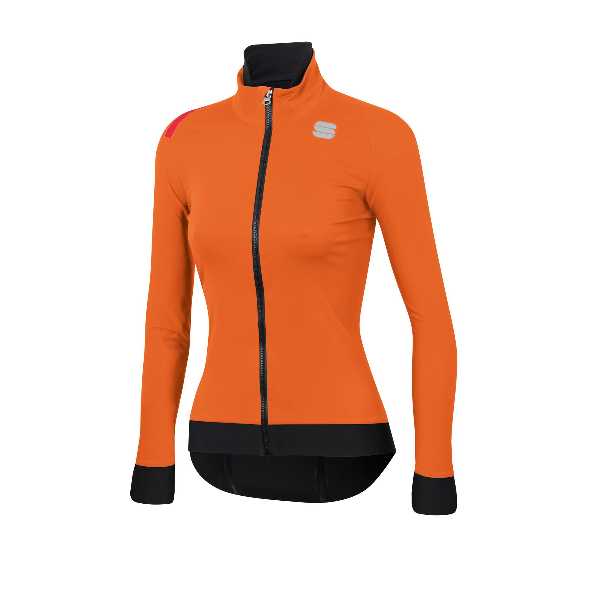 Sportful Fietsjack waterafstotend Dames Oranje / Fiandre Pro W Jacket-Orange Sdr
