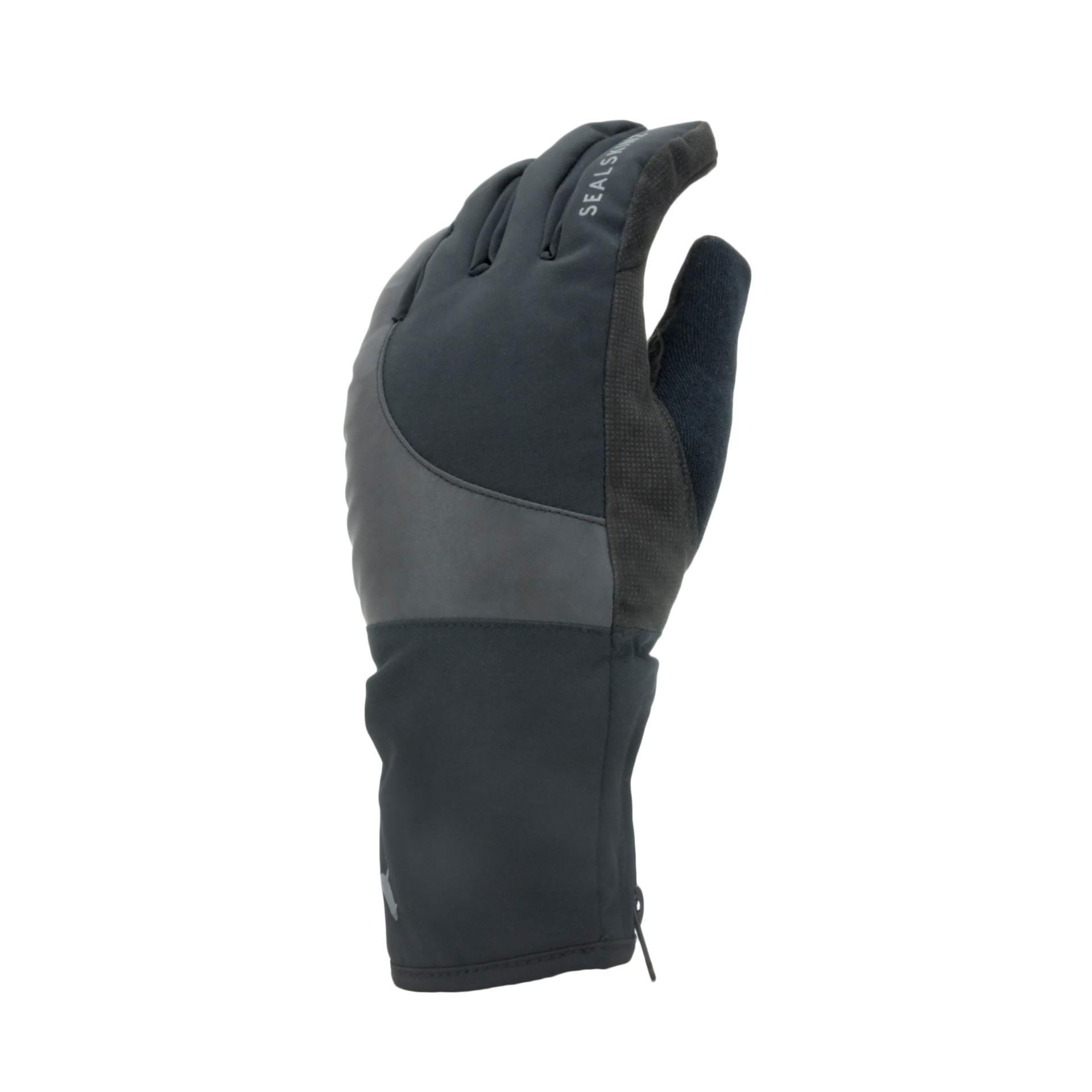 Afbeelding Sealskinz Fietshandschoenen waterdicht voor Heren Zwart  / Waterproof Cold Weather Reflective Cycle Glove Black