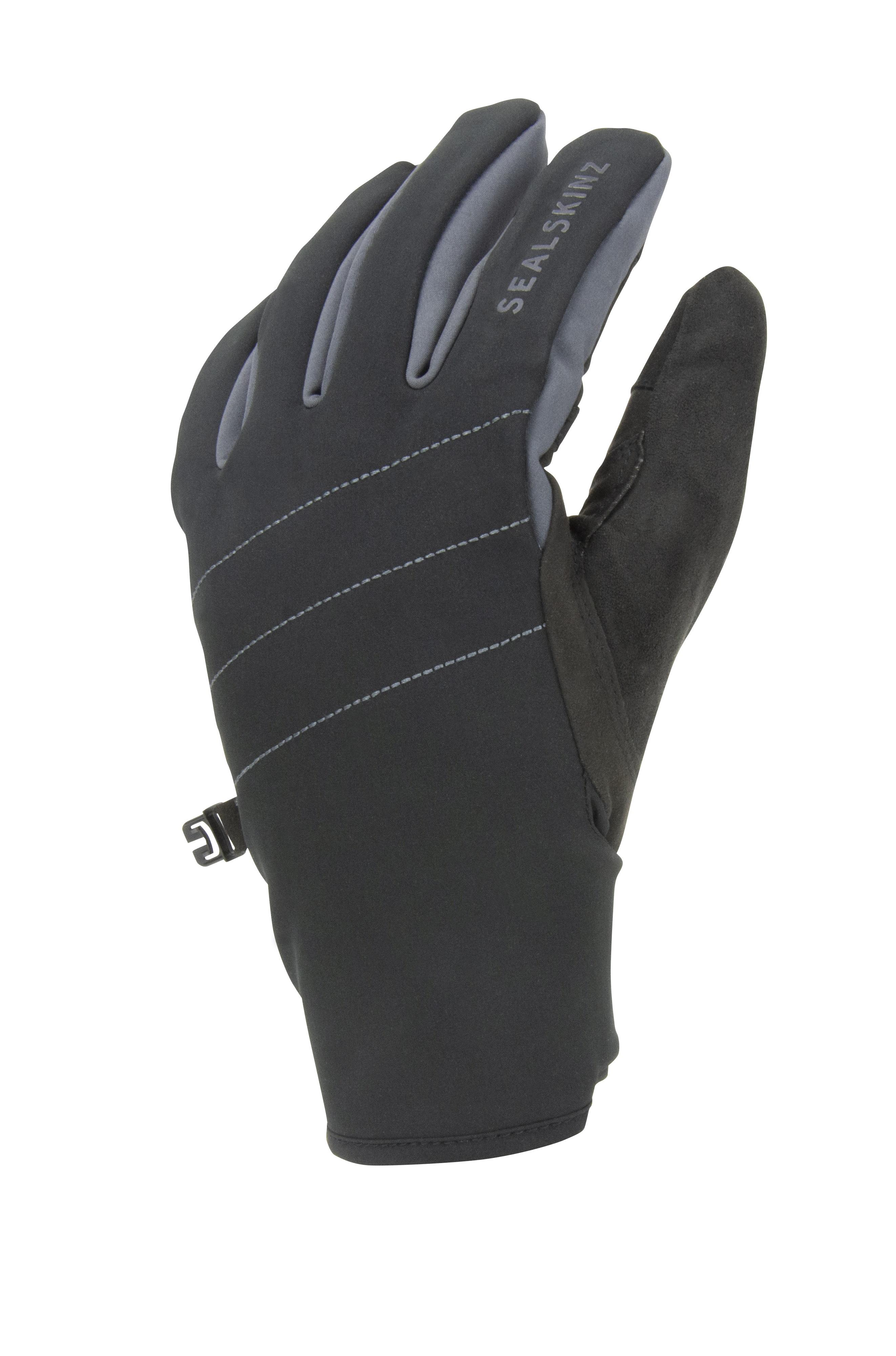 Sealskinz Fietshandschoenen Waterdicht Unisex Zwart Grijs - Waterproof All Weather Glove with Fusion Control Black Grey