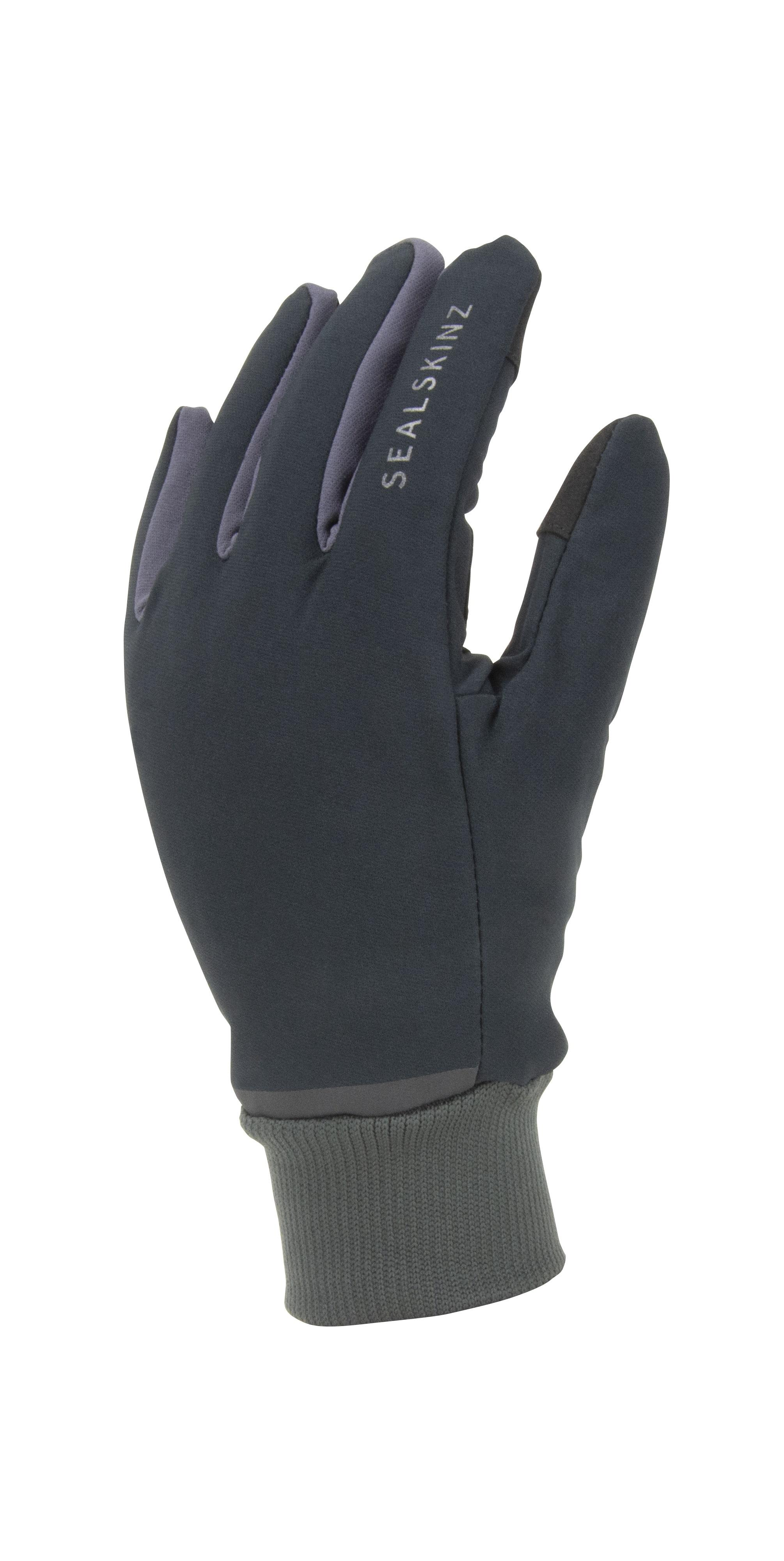Sealskinz Fietshandschoenen Waterdicht Unisex Zwart Grijs - Waterproof All Weather Lightweight Glove with Fusion Control Black Grey