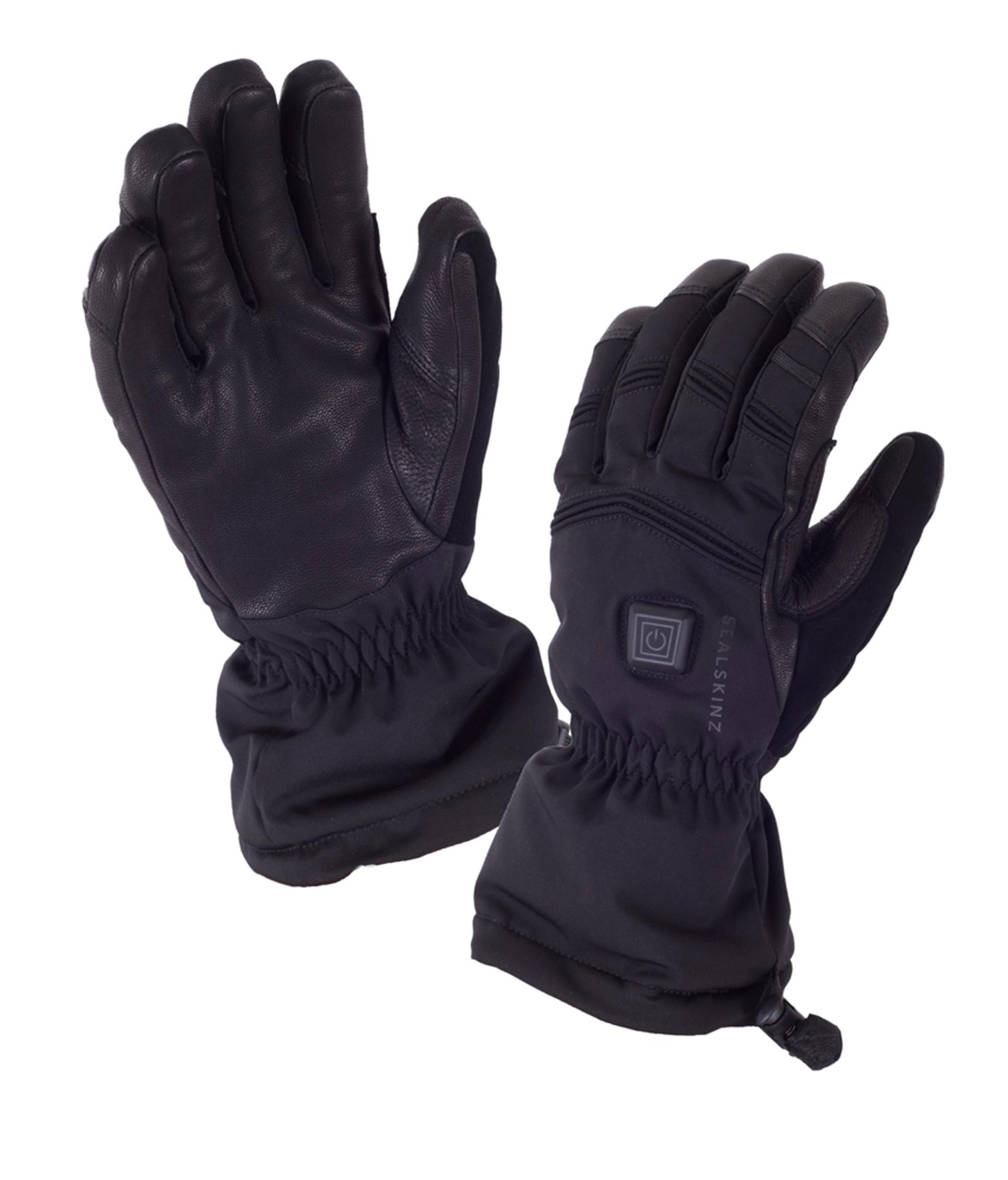 Sealskinz Fietshandschoenen Zwart  / SS Extreme Cold Weather Glove Heated-Black
