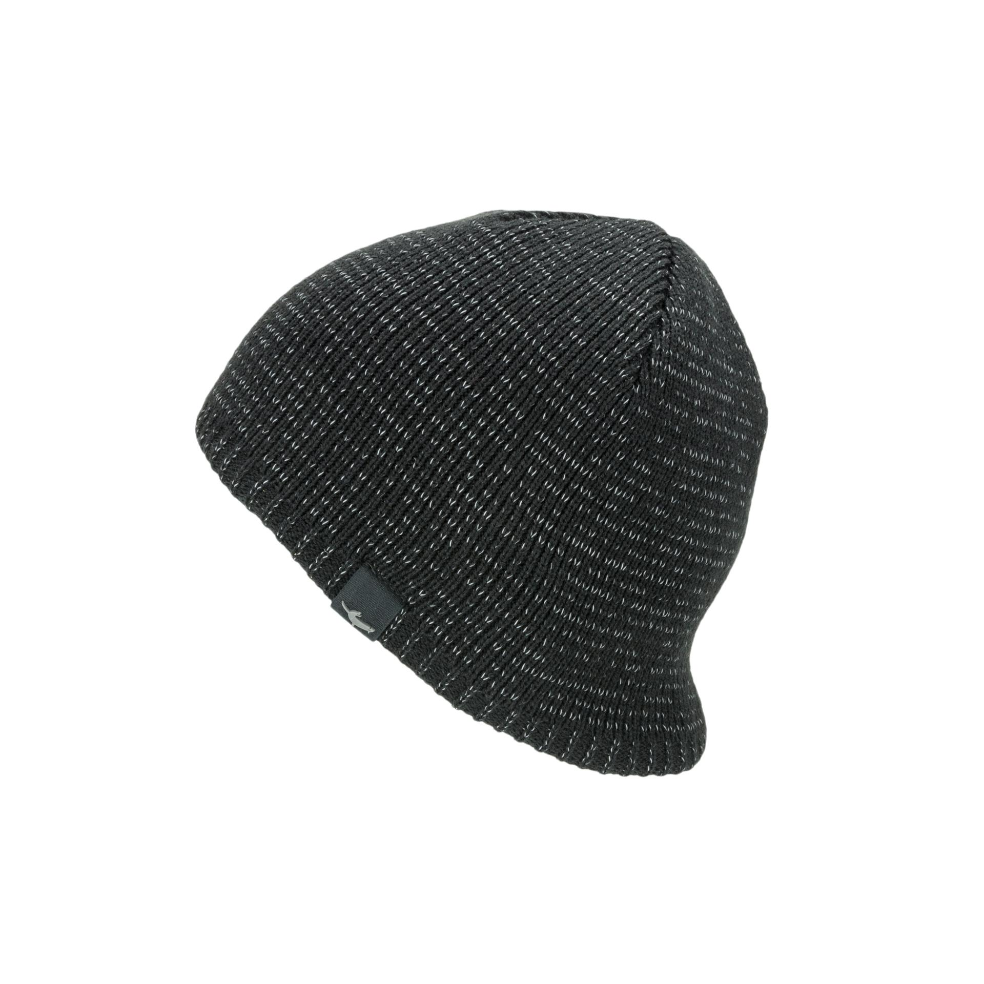 Afbeelding Sealskinz Casual muts waterdicht voor Heren Zwart  / Waterproof Cold Weather Reflective Beanie Black