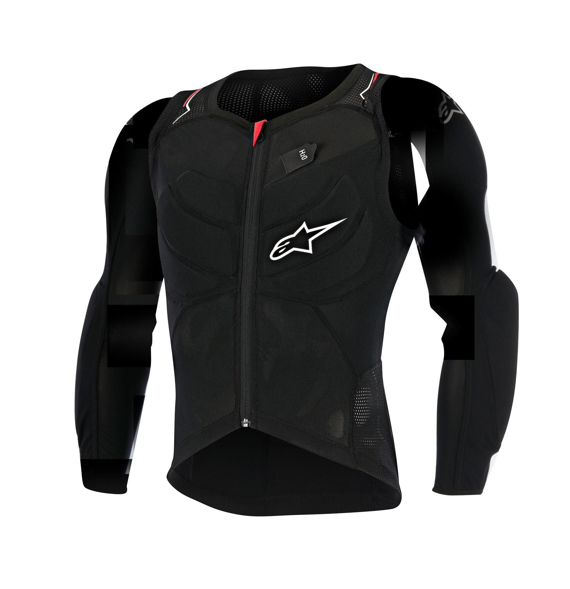 Alpinestars MTB Fietsjack Zwart Wit / AL Evolution Ls Jacket-Black White Red