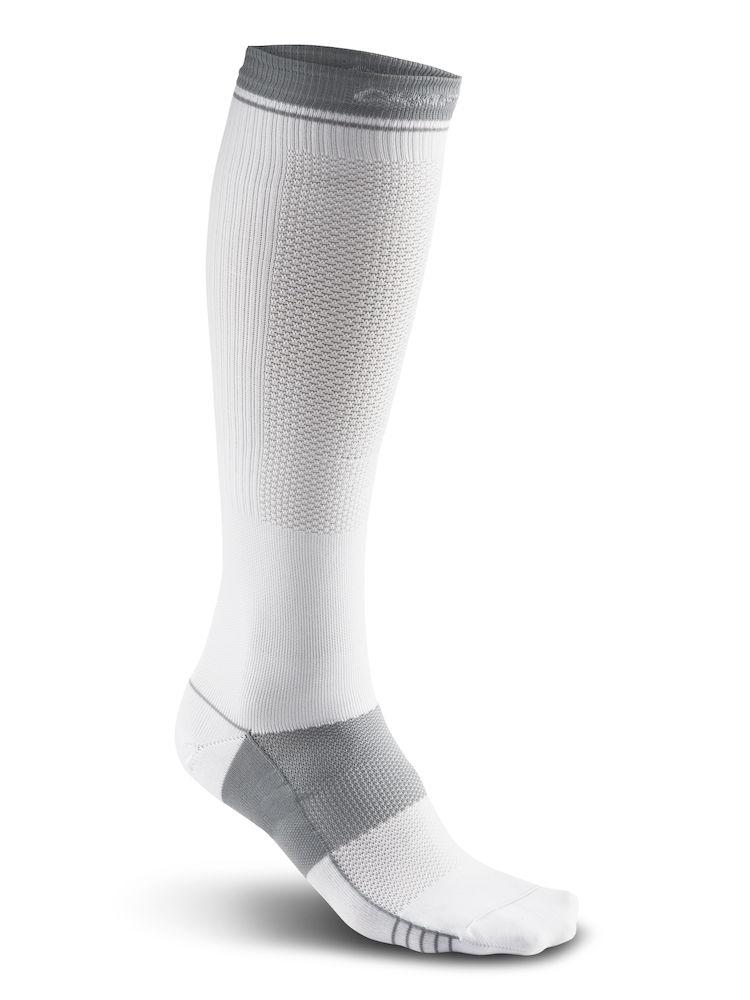 Craft Compressie fietssokken Unisex Wit  - COMPRESSION SOCK WHITE