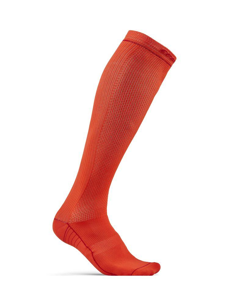 | Craft Compressie fietssokken Unisex Roze  - COMPRESSION SOCK FIESTA/BRIGHT RED