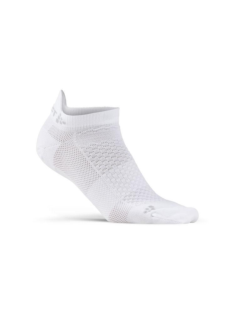 Afbeelding Craft 2 paar fietssokken Winter Unisex Wit  / COOL SHAFTLESS 2-PACK SOCK WHITE