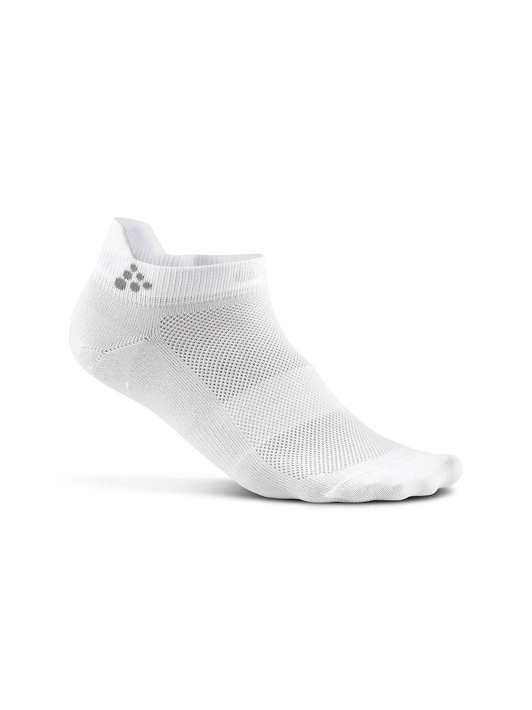 Craft Fietssokken Zomer Unisex Wit  - GREATNESS SHAFTLESS 3-PACK SOCK WHITE