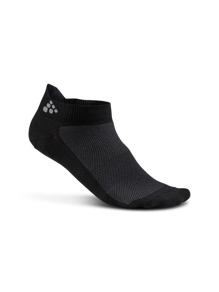Craft Fietssokken Zomer Unisex Zwart  - GREATNESS SHAFTLESS 3-PACK SOCK BLACK