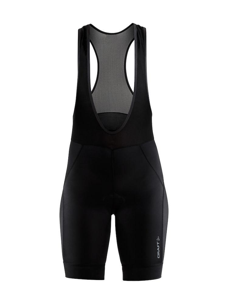 Craft fietsbroek dames Zwart / RISE BIB SHORTS W