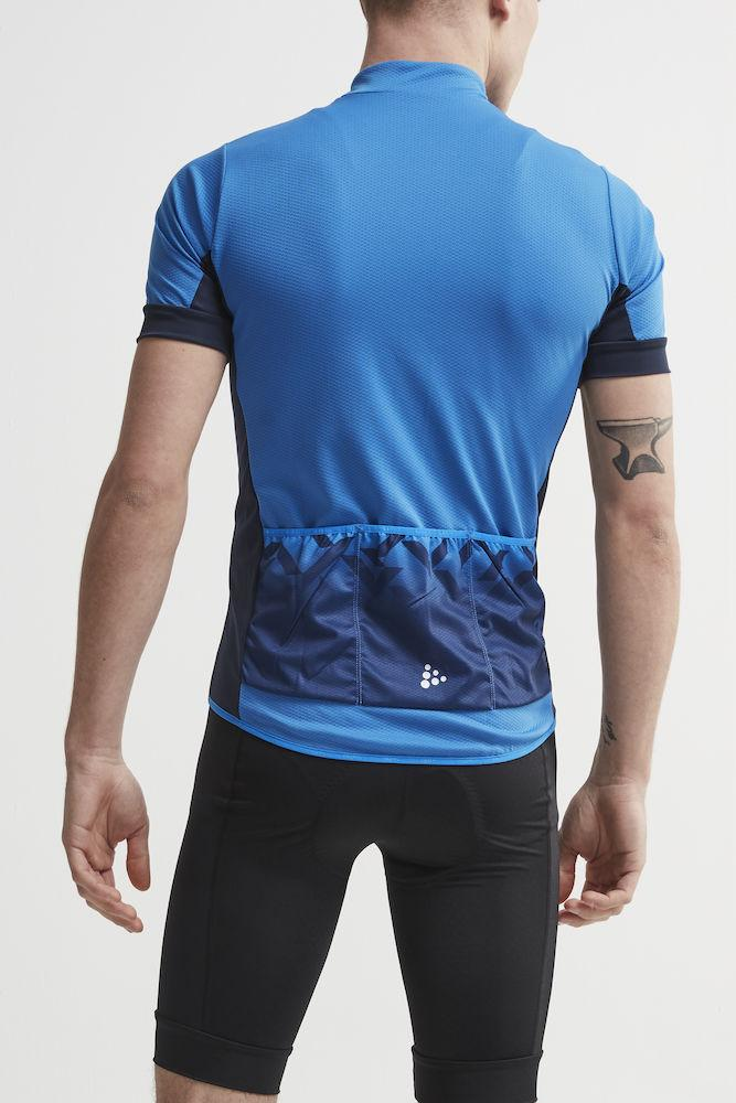 Craft Fietsshirt Heren Blauw  / REEL JERSEY M HAVEN/BLAZE