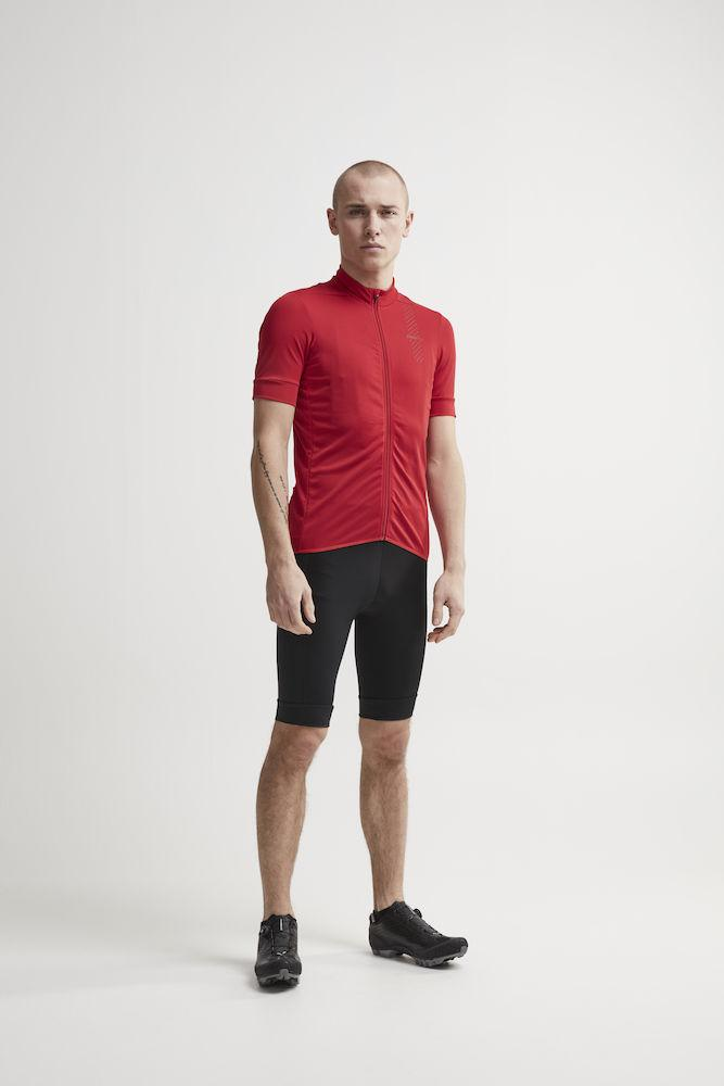 Craft Fietsshirt Heren Bordeaux  / RISE JERSEY M CANYON