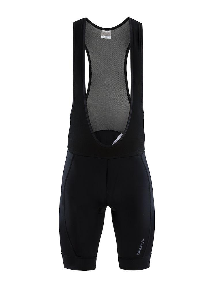 Craft Fietsbroek met bretels - koersbroek Heren Zwart  / RISE BIB SHORTS M BLACK