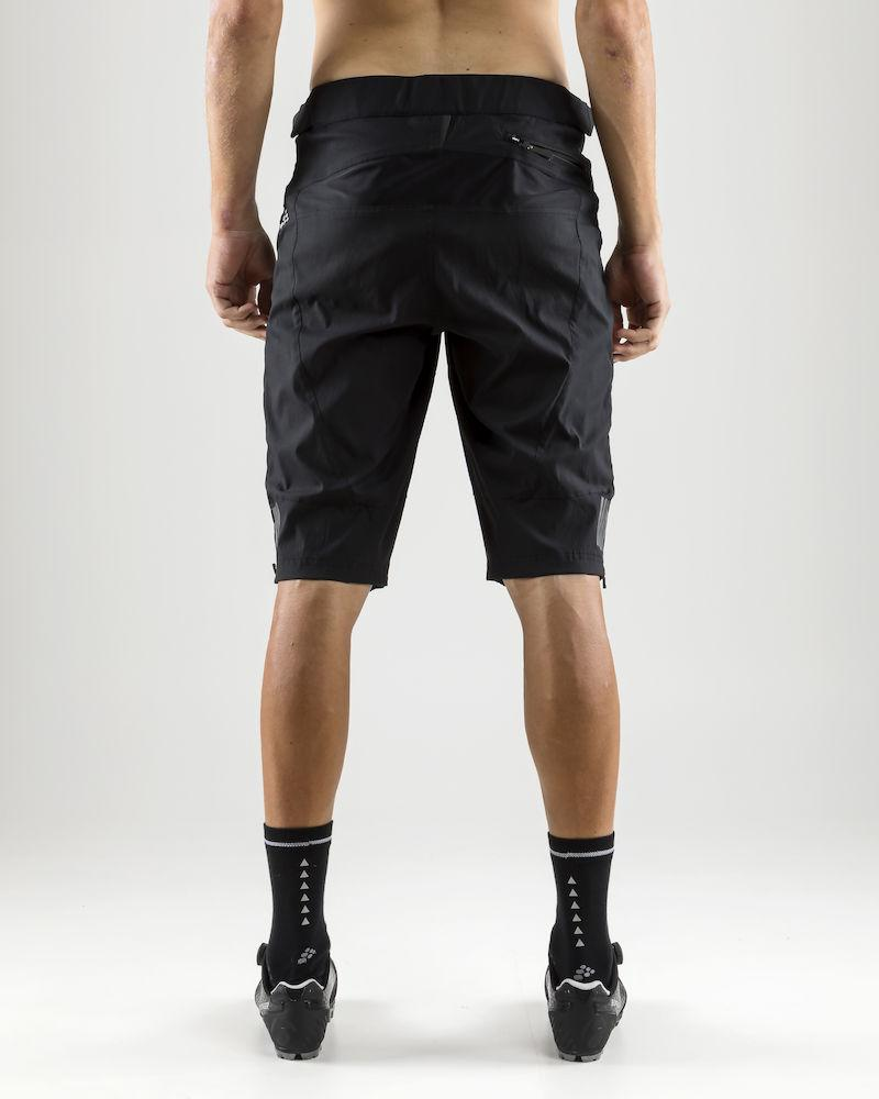 Craft Fietsbroek kort zonder bretels Heren Zwart  / ROUTE XT SHORTS M BLACK