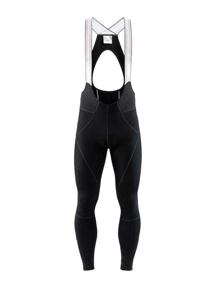 Craft Fietsbroek lang met bretels Heren Zwart  / IDEALPRO THERMAL BIB TIGHT M BLACK