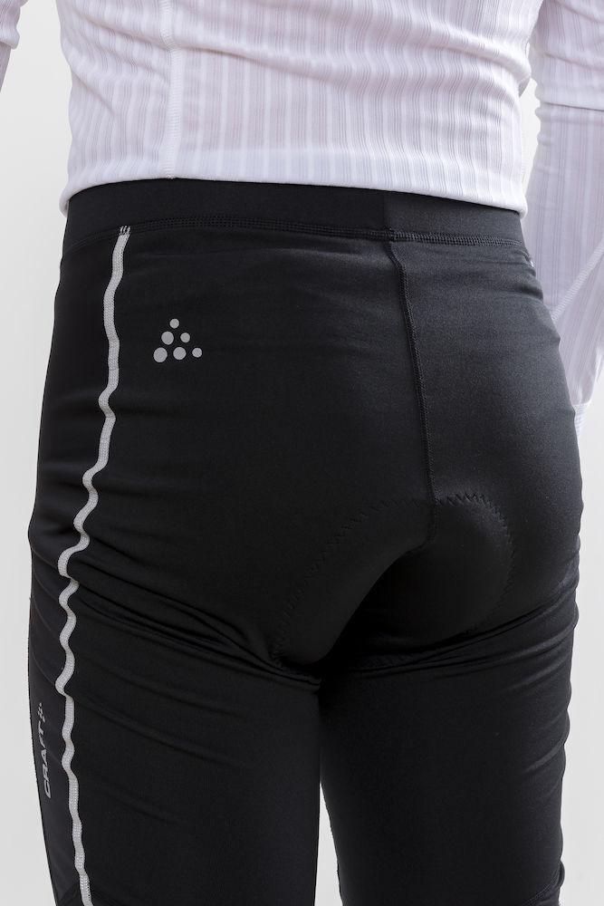 Craft Fietsbroek lang zonder bretels Heren Zwart  / IDEAL WIND TIGHTS M BLACK