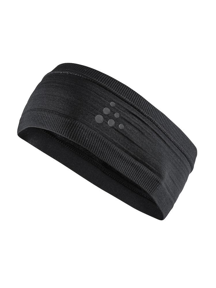 Craft Haarband Unisex Zwart  / WARM COMFORT HEADBAND J BLACK