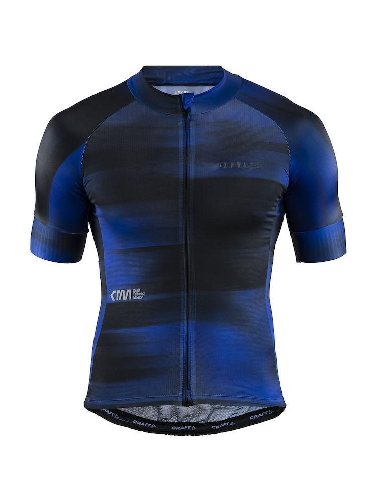 Craft Fietsshirt Heren Zwart  / CTM AEROLIGHT JERSEY M BLACK/SURF