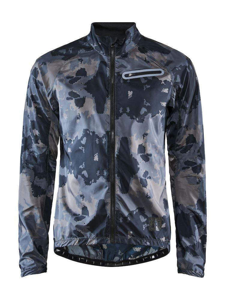 Craft Windstopper Jacket Waterafstotend Heren Zwart Multikleur - HALE XT JKT M BLACK/MULTI