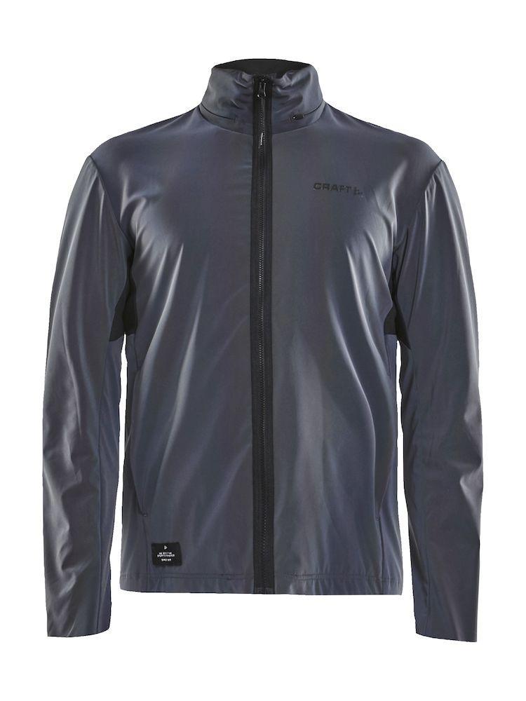 Afbeelding Craft Fietsjack Heren Multikleur Zwart / RIDE GLOW JKT M MULTI/BLACK