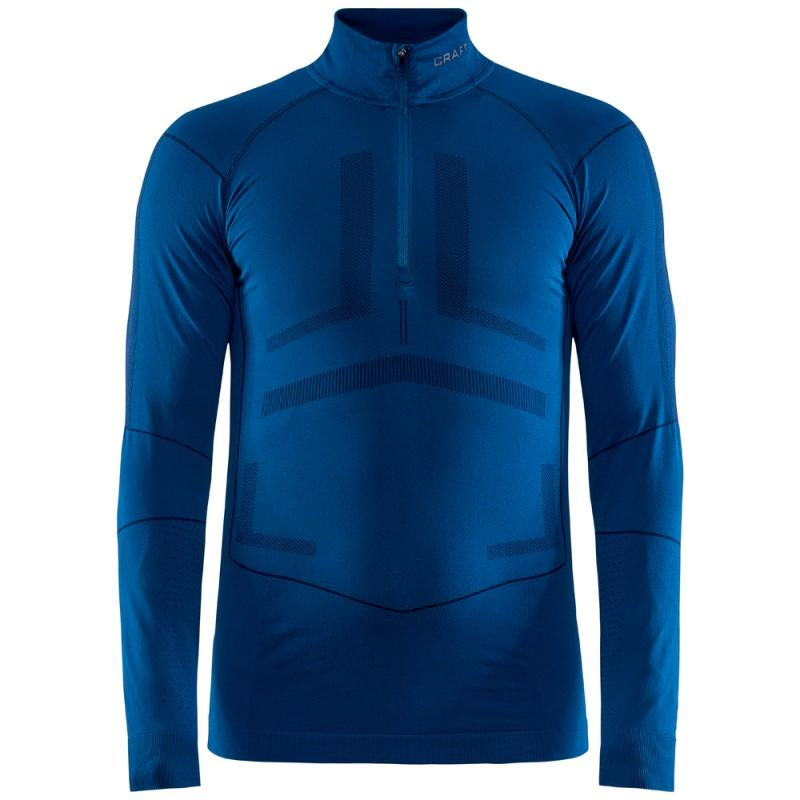 Craft Ondershirt Lange Mouwen Heren Blauw - ACTIVE INTENSITY ZIP M BEAT BLAZE