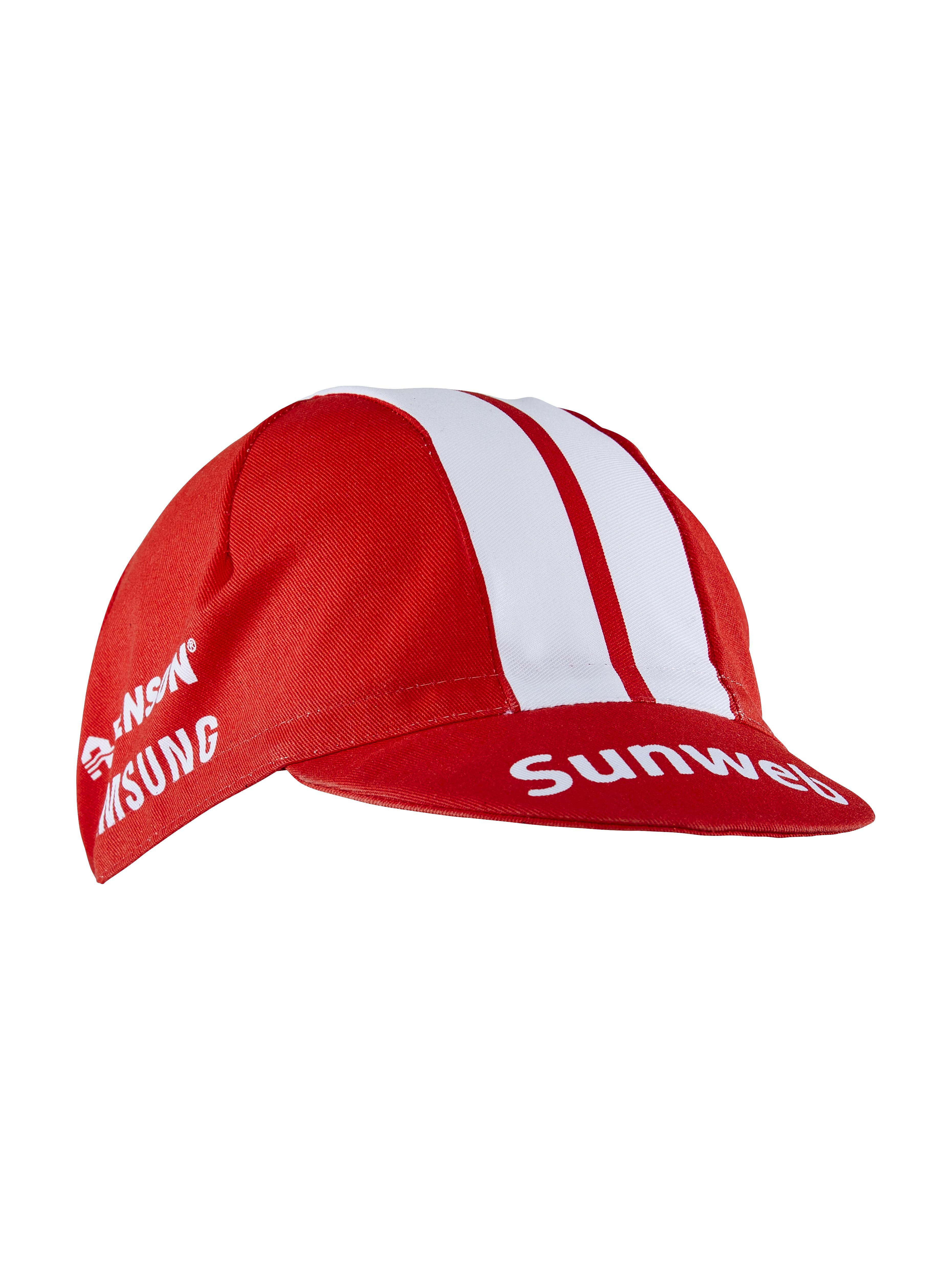 Afbeelding Craft Koerspetje Unisex Rood Wit / TEAM SUNWEB BIKE CAP TEAM SUNWEB RED