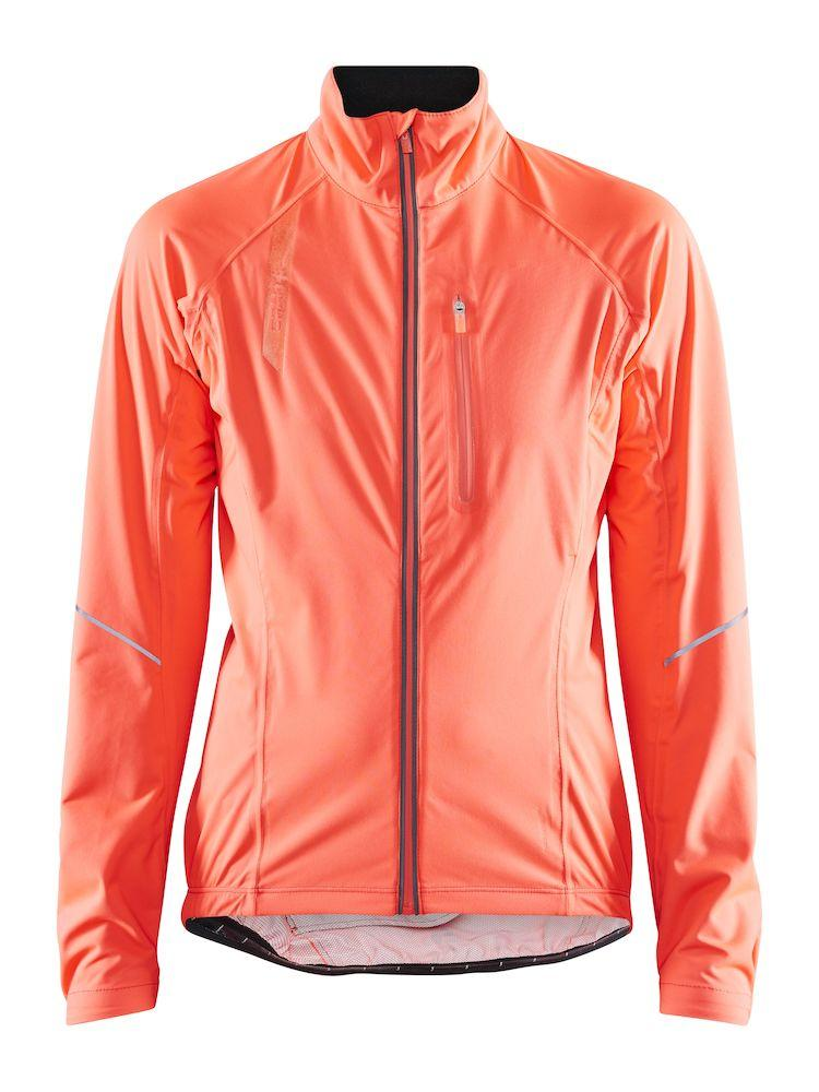 Craft Wind- en Regenjack Dames Roze  - STRIDE RAIN JKT W SHOCK