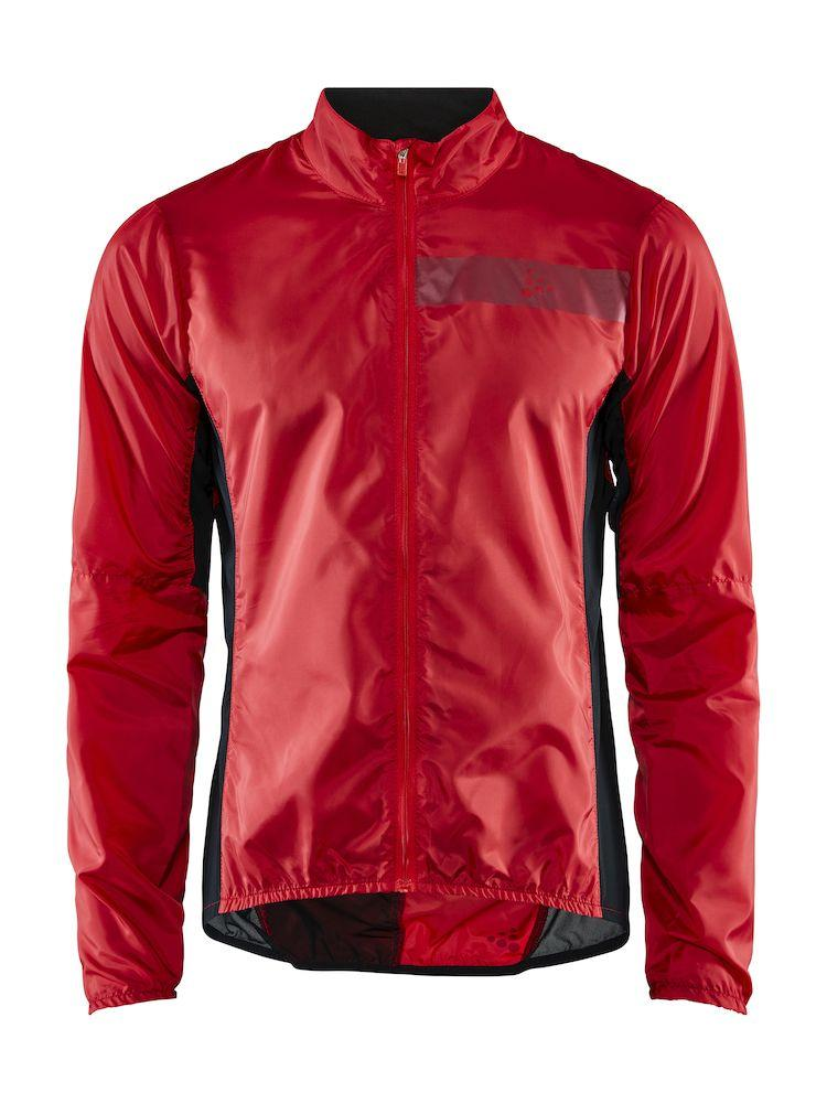 Craft Windstopper Jacket Heren Rood Wit - ESSENCE LIGHT WIND JKT M BRIGHT RED