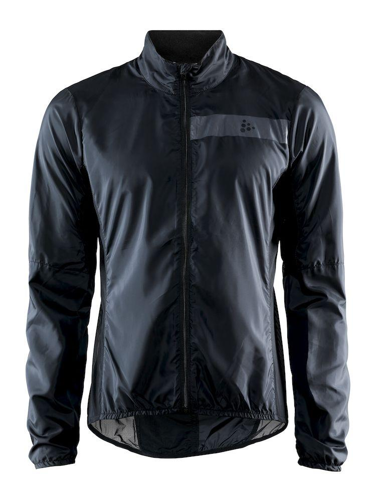 Craft Windstopper Jacket Heren Zwart  - ESSENCE LIGHT WIND JKT M BLACK