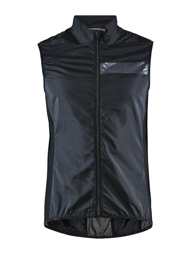 Craft Windstopper mouwloos Heren Zwart  - ESSENCE LIGHT WIND VEST M BLACK