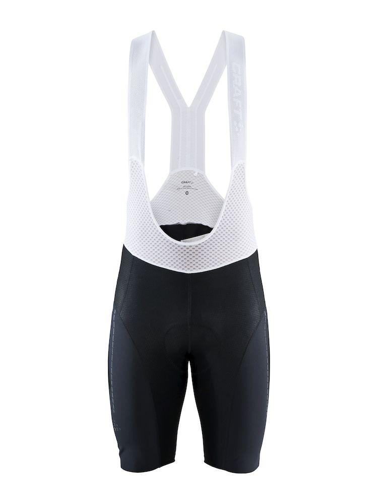 Craft Fietsbroek met Bretels Kort Heren Zwart Wit - SURGE LUMEN BIB SHORTS M BLACK/WHITE