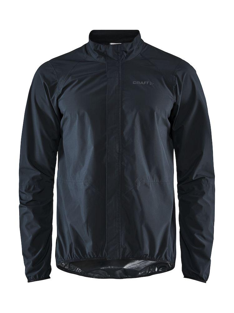 Craft Wind- en Regenjack Heren Zwart  - ADOPT RAIN JKT M BLACK