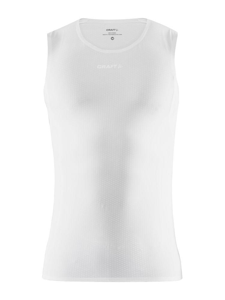 Craft Ondershirt Mouwloos Heren Wit  - PRO DRY NANOWEIGHT SL M WHITE