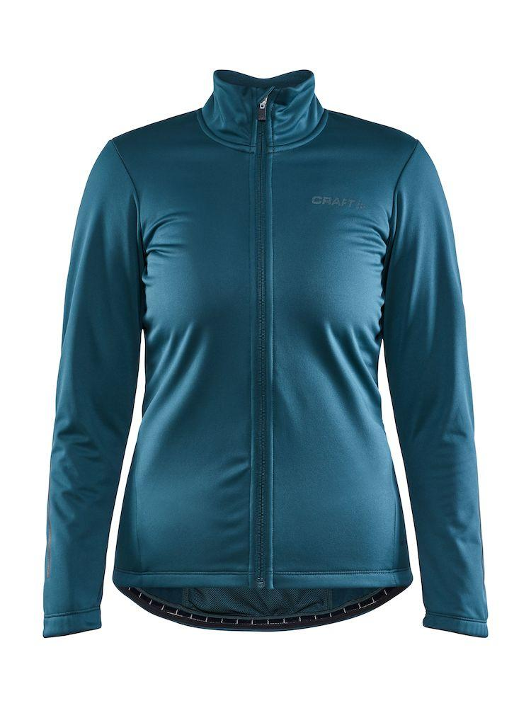 Craft Fietsjack Winter Waterafstotend Dames Blauwgroen - CORE IDEAL JKT 2.0 W OPAL