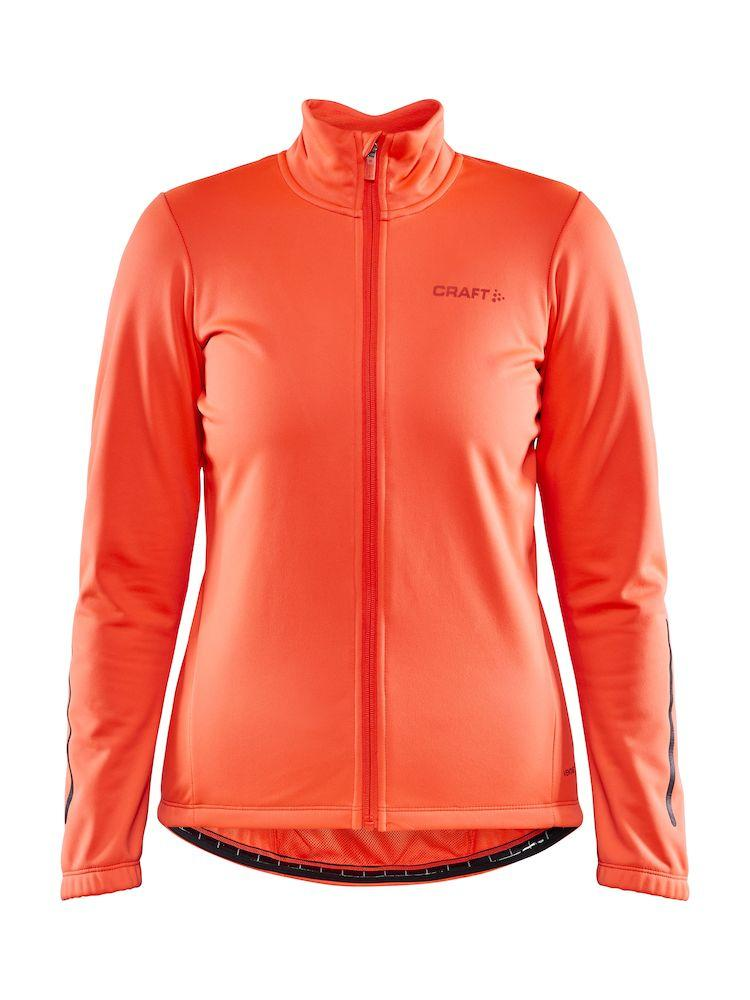 Craft Fietsjack Winter Waterafstotend Dames Koraal - CORE IDEAL JKT 2.0 W SHOCK