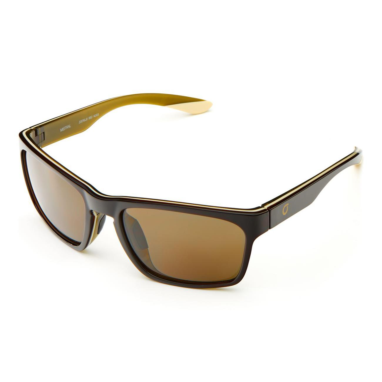 Briko Casual zonnebril unisex Bruin - Mistral Color HD Sunglasses Sh Brown Gr -Kgr3