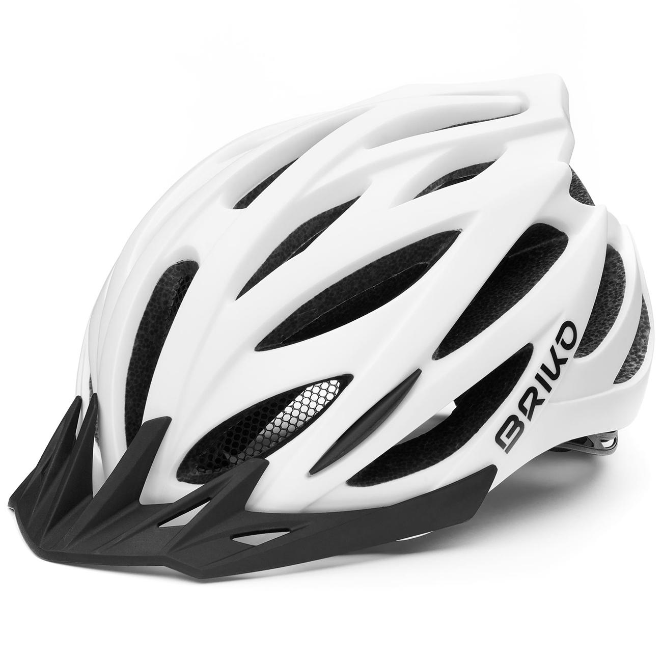 Briko Fietshelm MTB unisex Wit - Morgan Bike Helmet Matt White