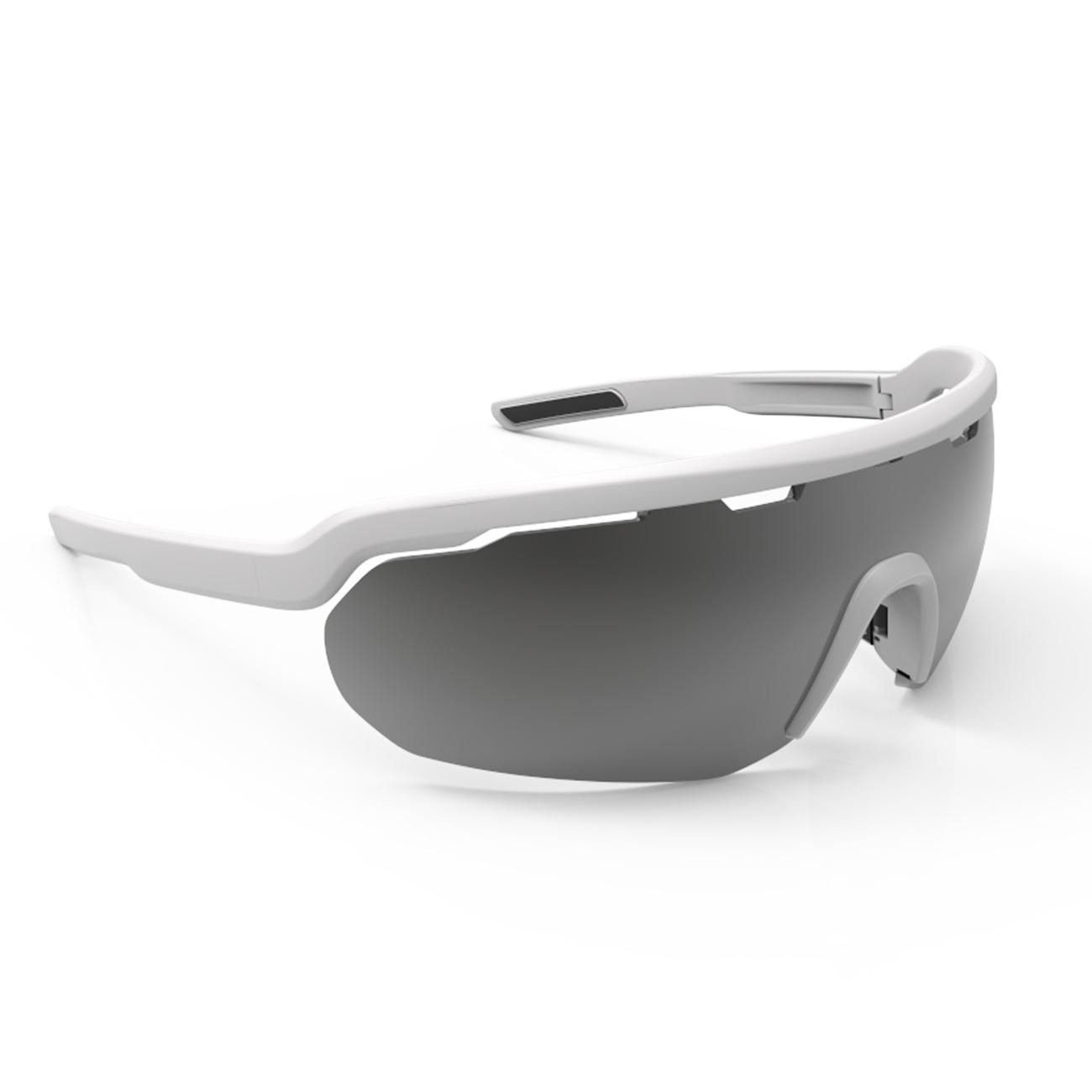 Afbeelding Briko Fiets zonnebril unisex Wit - Stardust 2 Lenses Off White-SM3Y1