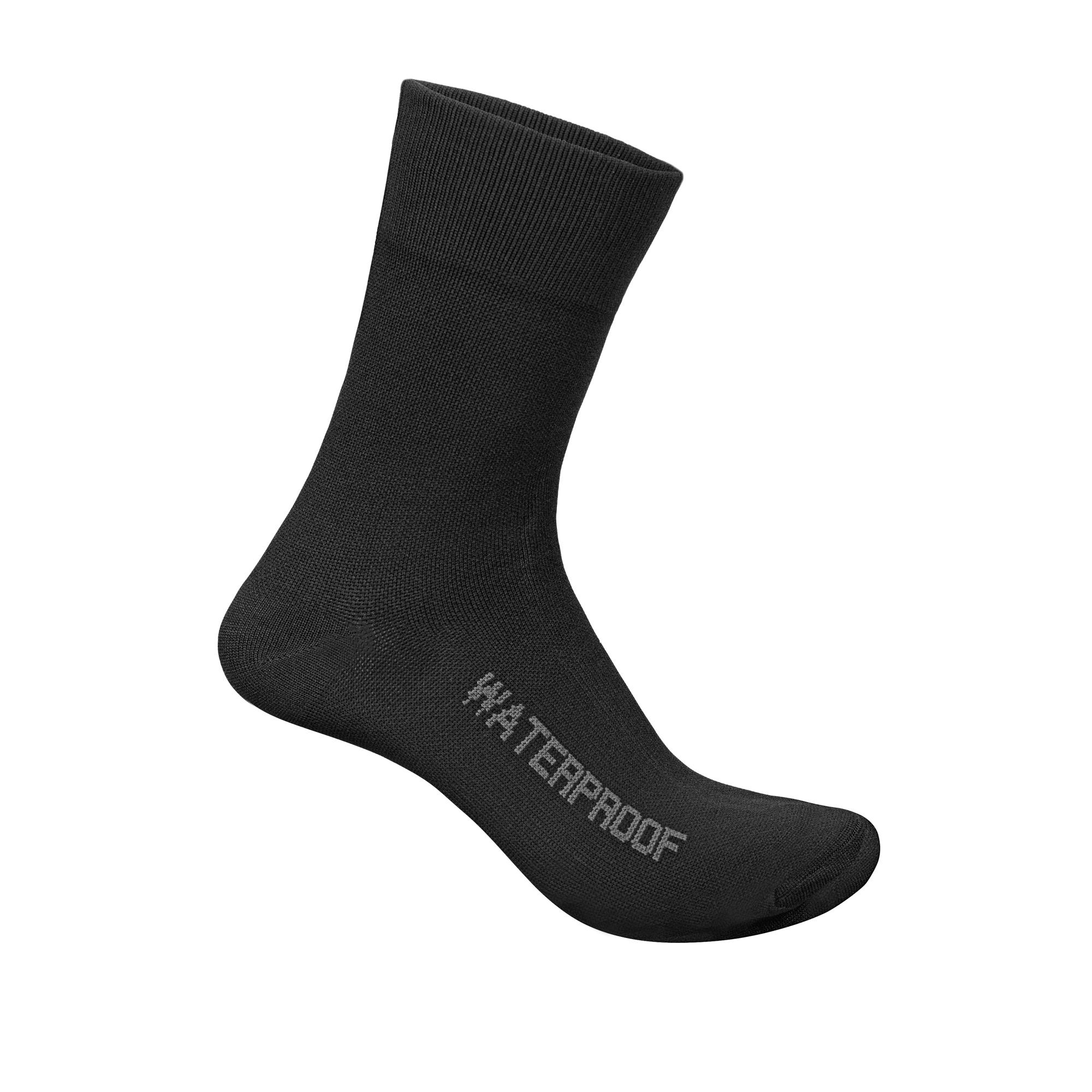 GripGrab Fietssokken Winter Unisex Zwart - Lightweight Waterproof Sock Black