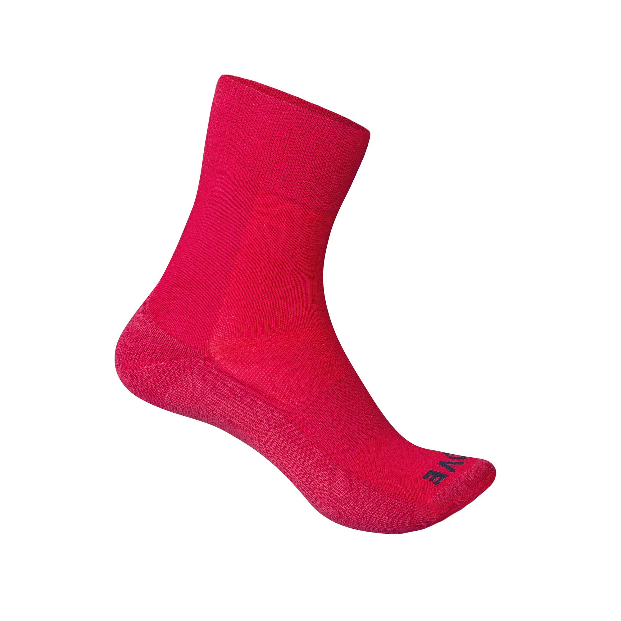 GripGrab Fietssokken Winter Unisex Rood - Thermolite Winter Sock SL Red