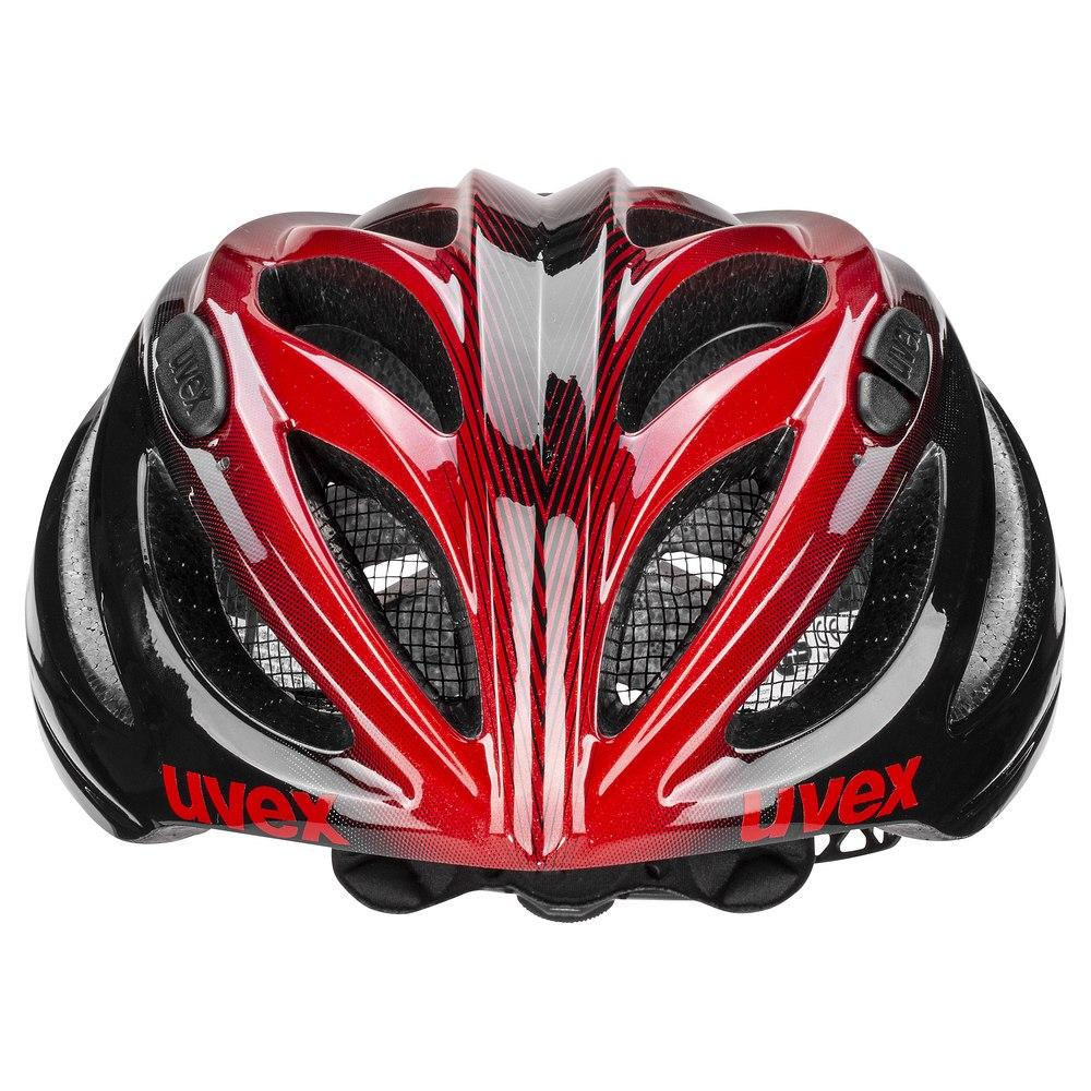Uvex Fietshelm Race Zwart Rood Unisex - UV Boss Race-Black/Red