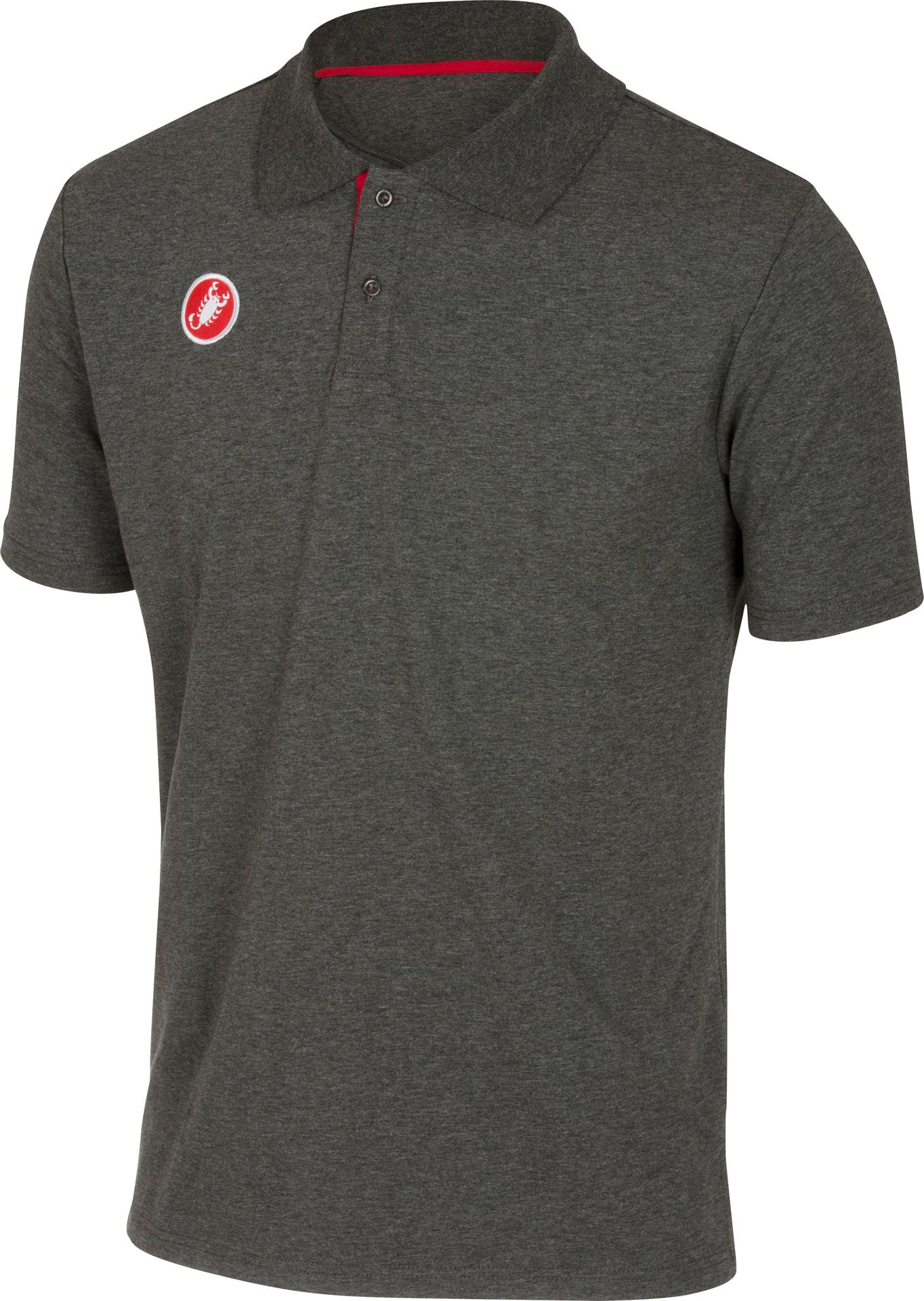 Castelli Casual kleding Heren Grijs  / CA Race Day Polo Melange Grey