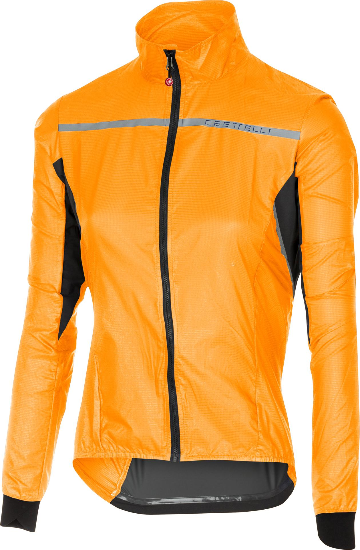 Castelli Fietsjack all weather Dames Oranje  / CA Superleggera W Jacket Orange