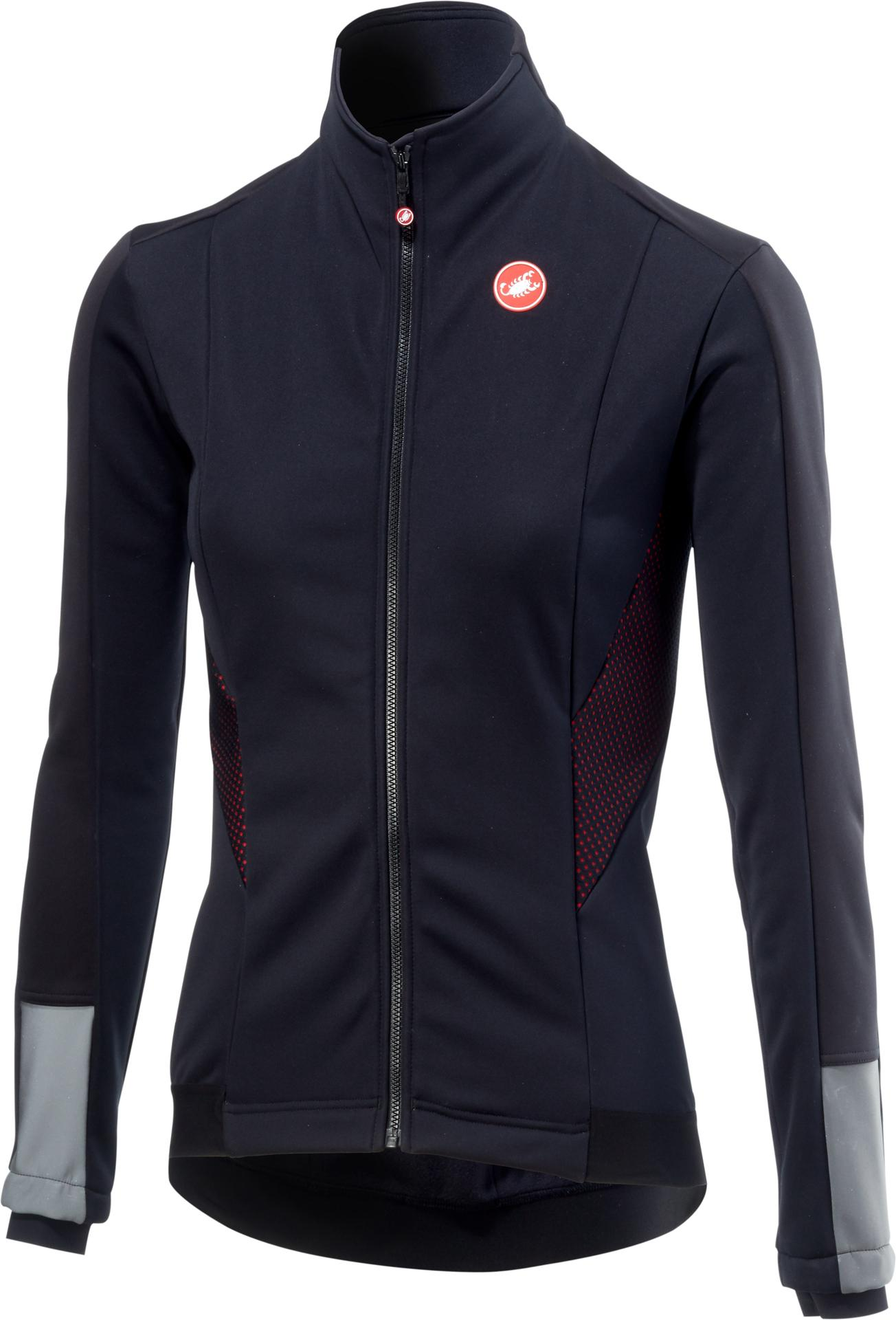 Castelli Fietsjack Dames Zwart  / CA Mortirolo 3 W Jacket Light Black