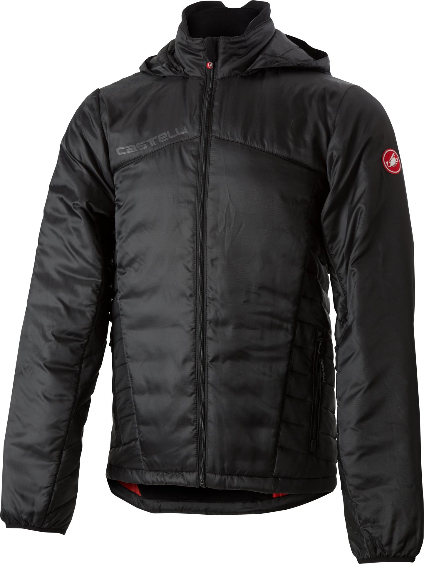 Castelli Casual kleding Heren Zwart  / CA Meccanico 2 Puffy Jacket Light Black