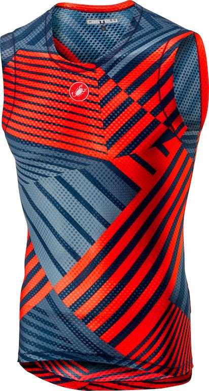 Castelli Ondershirt mouwloos Heren Oranje  - CA Pro Mesh  Sleeveless-Orange