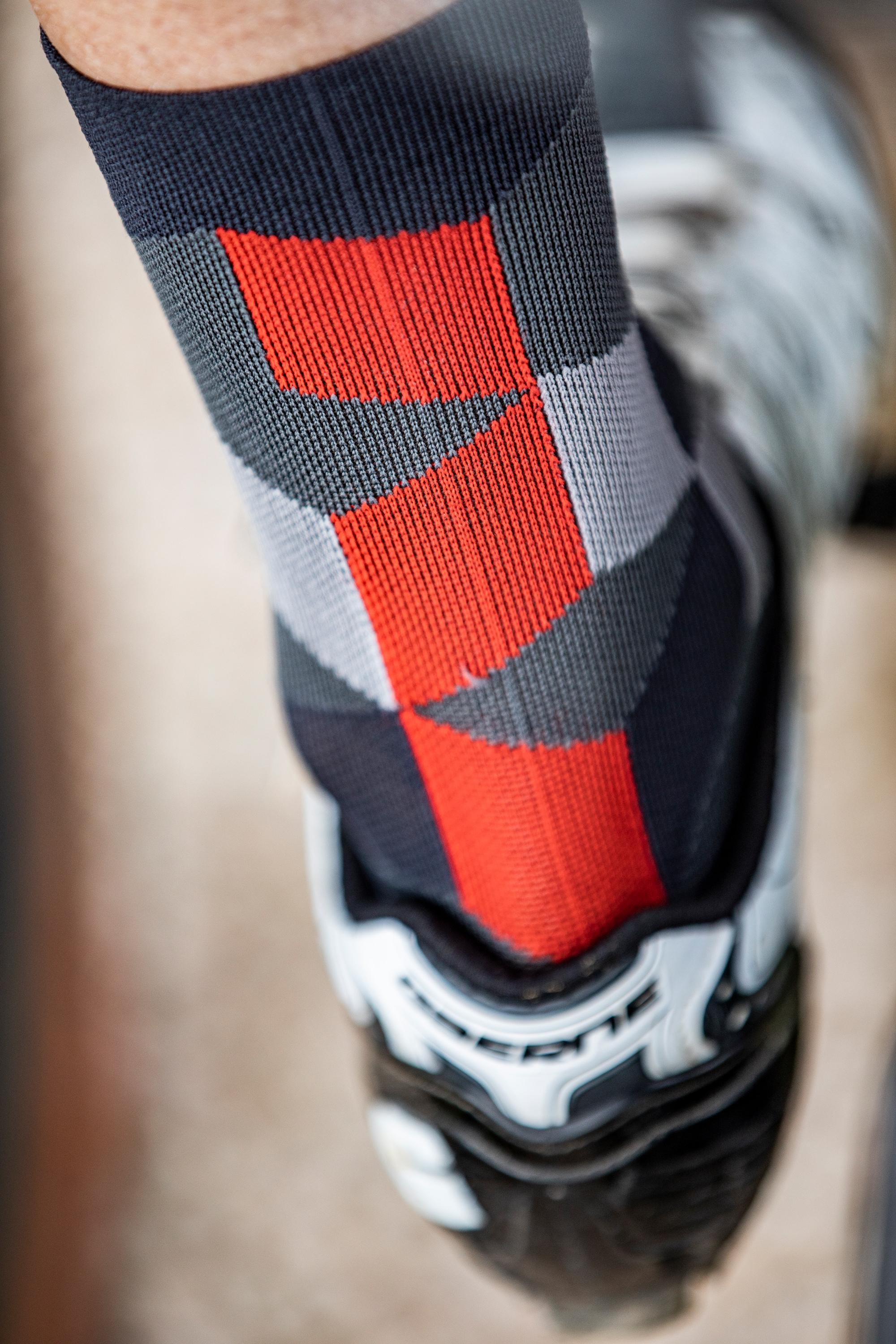 Castelli Fietssokken Heren Grijs - CA Unlimited 15 Sock Forest Gray