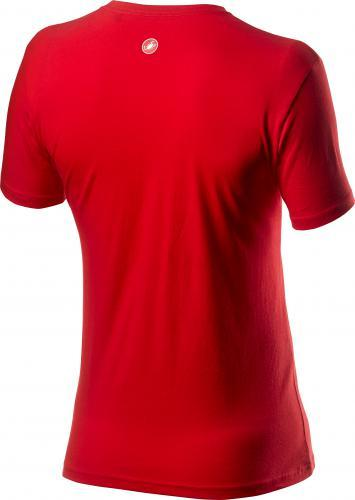 Afbeelding Castelli Casual T-shirt Heren Rood - Sarto Tee