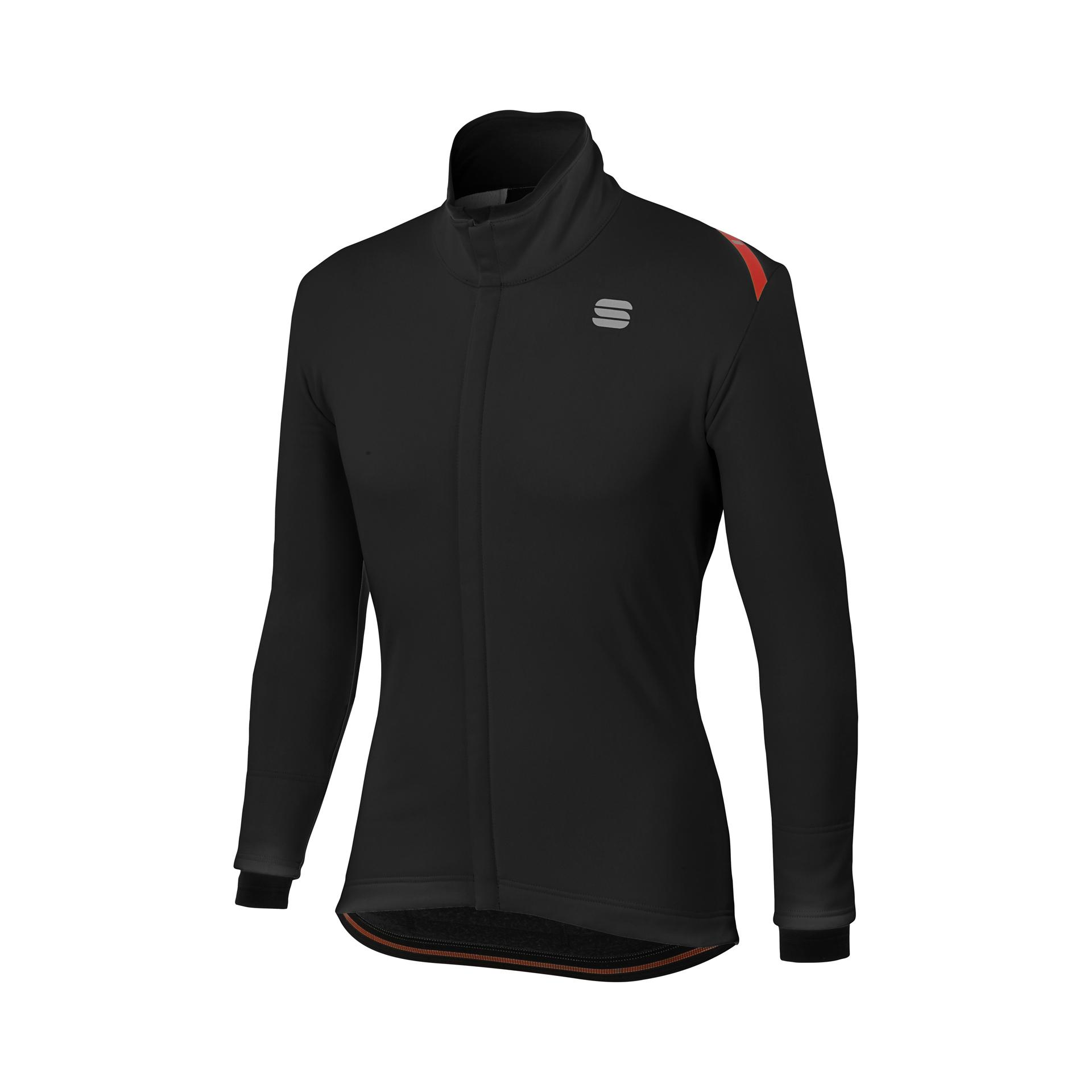 Sportful Fietsjack Heren Zwart / SF Fiandre Thermo Cabrio Jacket-Black